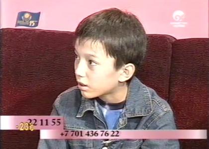 Желіде 13 жастағы Димаш Құдайбергеннің жергілікті арнаға берген сұхбаты жарық көрді (ВИДЕО)