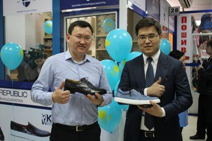 В Актобе открылась торговая точка по реализации брендовой казахстанской обуви